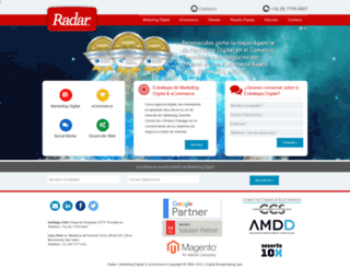 radar.cl screenshot