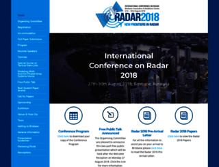 radar2018.org screenshot