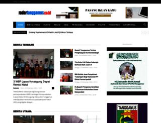 radartanggamus.com screenshot