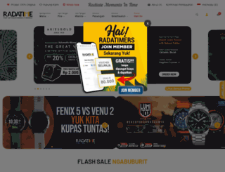 radatime.co.id screenshot