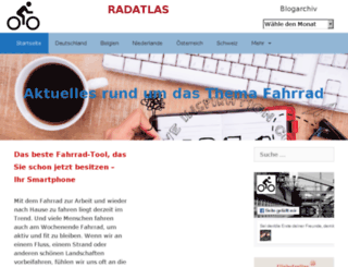 radatlas.de screenshot