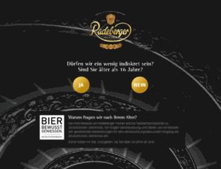 radeberger-geschichte.de screenshot