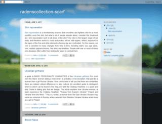 radenscollection-scarf.blogspot.com screenshot