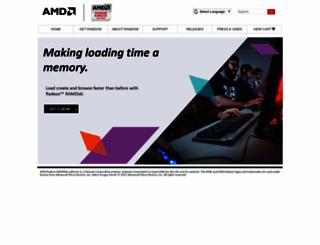radeonramdisk.com screenshot