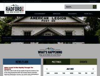 radfordva.gov screenshot