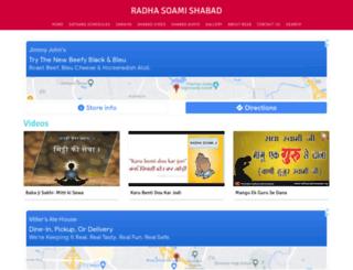 radhasoamishabad.org screenshot