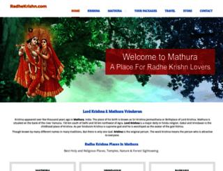 radhekrishn.com screenshot