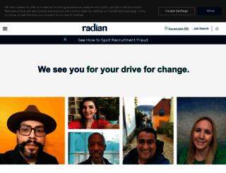 radian.jobs.net screenshot