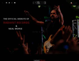 radiantrecords.com screenshot