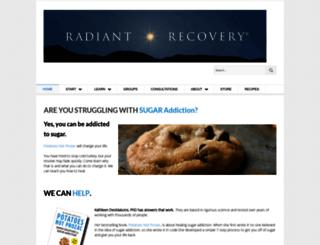 radiantrecovery.com screenshot