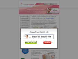 radiateur-a-inertie.com screenshot