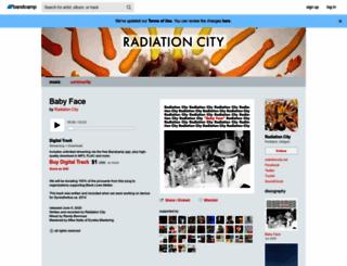 radiationcity.bandcamp.com screenshot