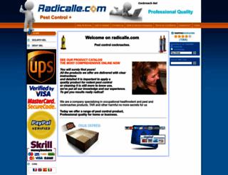 radicalle.com screenshot