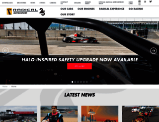 radicalsportscars.com screenshot