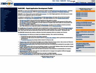radicore.org screenshot