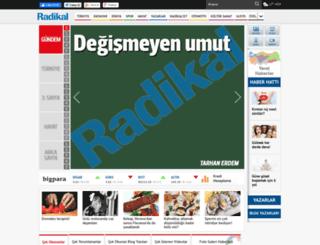 radikal.com.tr screenshot
