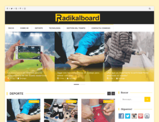 radikalboard.com screenshot
