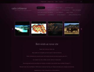 radio-cinfanense.webnode.pt screenshot