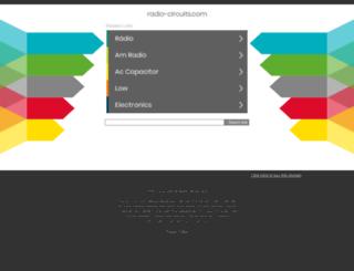 radio-circuits.com screenshot
