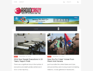 radio-crazy.com screenshot