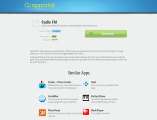 radio-fm-3.apportal.co screenshot