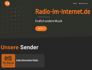 radio-im-internet.de screenshot