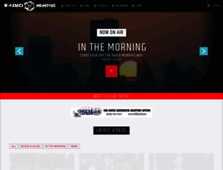 radio-memphis.com screenshot