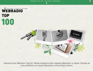 radio-top100.de screenshot