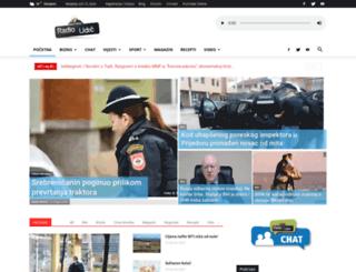 radio-udrc.com screenshot