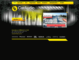 radio.auto.pl screenshot