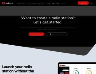 radio.co screenshot
