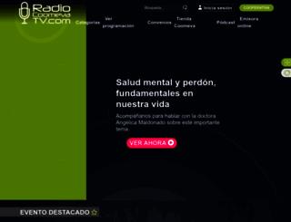 radio.coomeva.com.co screenshot