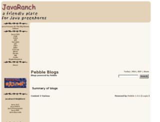 radio.javaranch.com screenshot
