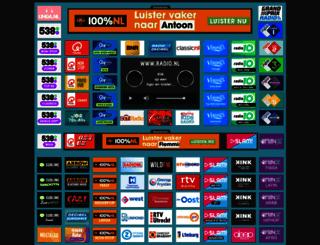 radio.nl screenshot