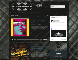 radio.novalujon.com screenshot