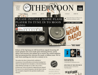 radio.nymoon.com screenshot