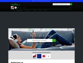 radio.se screenshot