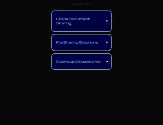 radio.siamza.info screenshot