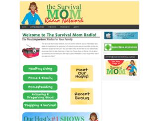 radio.thesurvivalmom.com screenshot