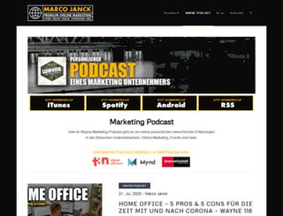 radio4seo.de screenshot