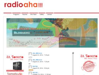 radioaha.com screenshot