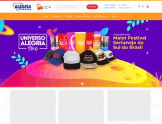 radioalegria.com.br screenshot