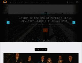 radioalternativo.com screenshot