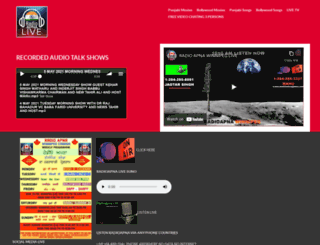radioapna.com screenshot