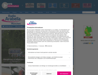 radioarabella.de screenshot