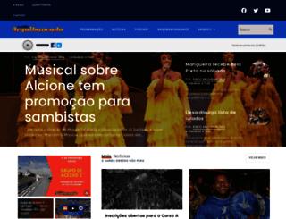 radioarquibancada.com.br screenshot