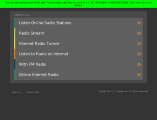 radiobe.com screenshot