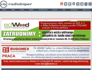 radiobiper.info screenshot