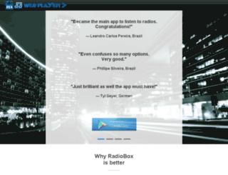 radioboxapp.com.br screenshot