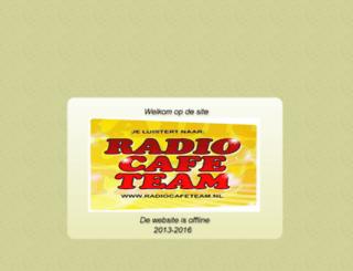radiocafeteam.nl screenshot